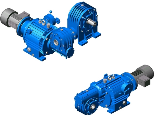 Variable Double Geared Motor