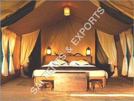 Luxury Wooden Tent