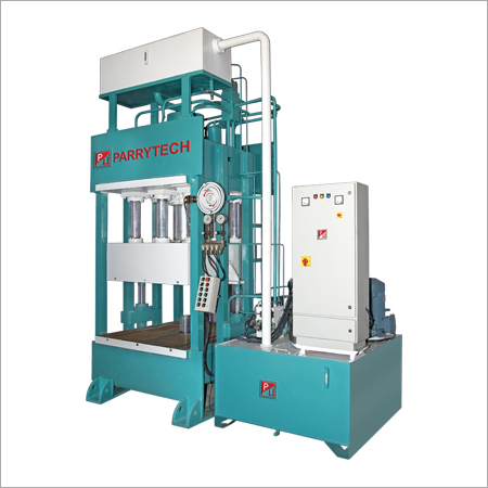 Hydraulic Deep Draw Press with Blank Holder