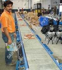 Slat Conveyor For Bike Assembly