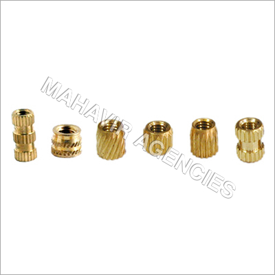Rubber Moulding Brass Insert