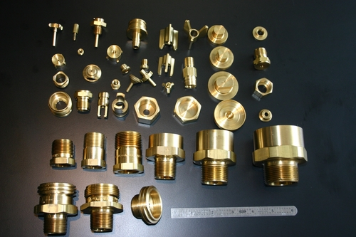Brass Compression Fitting Parts