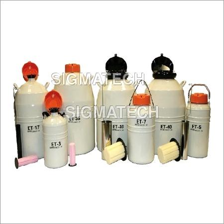 Liquid Nitrogen Storage Container