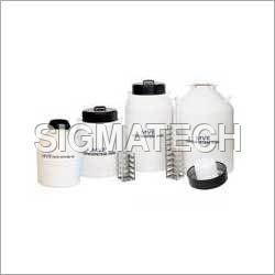 Liquid Nitrogen Containers With Racks