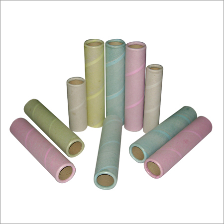 纸包装的管