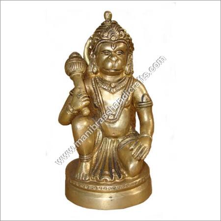 Hanuman Sitting on Rd. Base