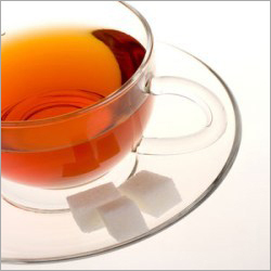 Instant tea hot water soluble