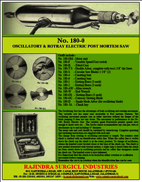 Post Mortem Electric Saw