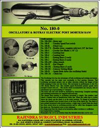 Post Mortem Electric Saw
