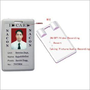 ID Card Type Micro Recorder/Camera Recorder