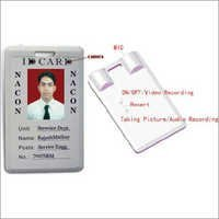 ID Card Type Micro Recorder/Camera Recorder