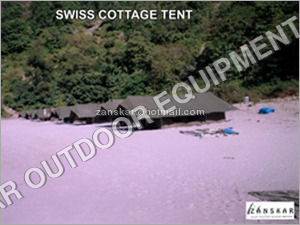 Swiss Cottage Camping Tent