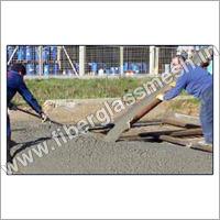 Fiber mesh concrete reinforcement