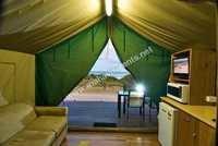 Safari Tents Interiors