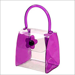 PVC Button Bag