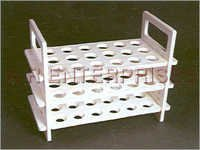 Polypropylene 3 Tiler Test Tube Stands