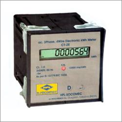 Three Phase Kwh Panel Meter