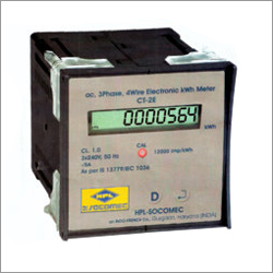Three Phase Kwh Panel Meter
