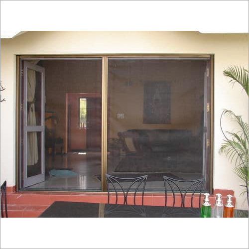 Retractable Double Door