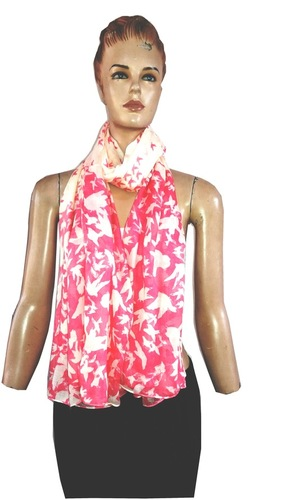 100% Viscose printed Scarves