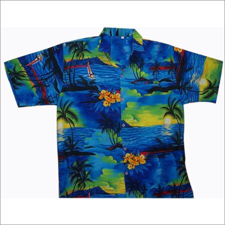 Printed Beach Shirt