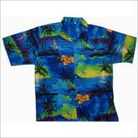 Printed Beach Shirt