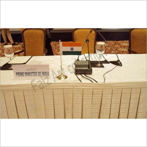 India Desk Flag