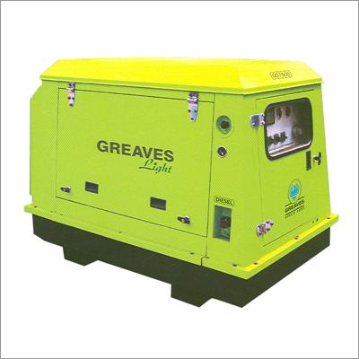 Greaves Light Portable Genset