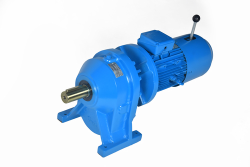 Inline Helical Geared Motor With Brake