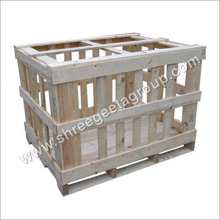 Pine Wood Crates Box