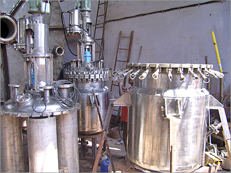 Body Flange Reactor