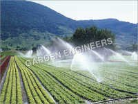Irrigation Sprinkler Equipment