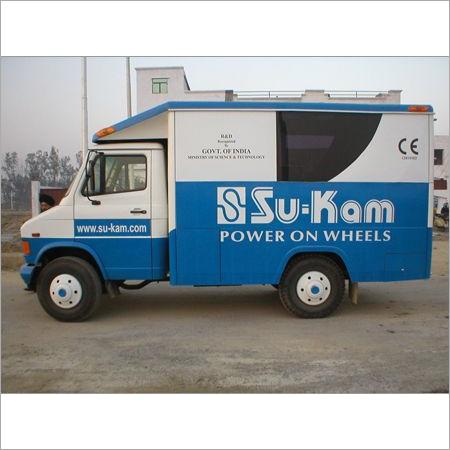 Display Exhibition Vans