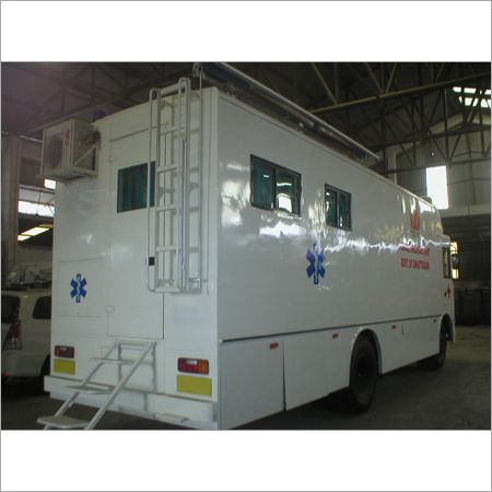 Customized Mobile Medical Vans