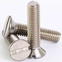 CSK SLOTTED SCREW