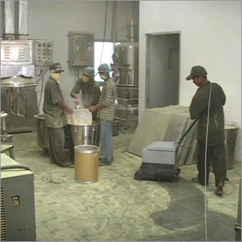 Granulation Room Cleaning