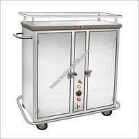 Hot Food Tray Trolley