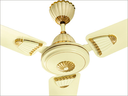 Shell Ivory Ceiling Fan