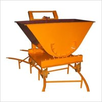 Slab Trolly With Rail Fully Manual Operated