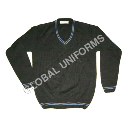 Black School Sweater