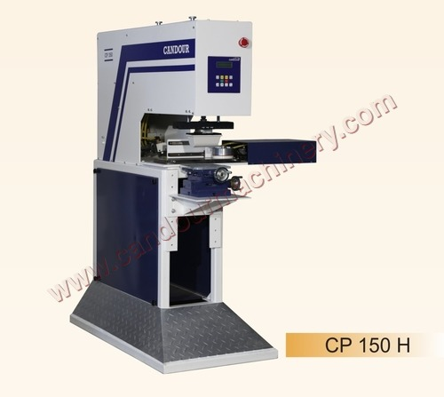 Single Colour Pad Printing M/C with Horizontal Cap
