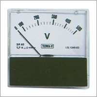 AC Moving Iron Sq 80 Panel Ammeters & Voltmeters