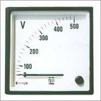 AC Moving Iron Sq 96 Panel Ammeters & Voltmeters