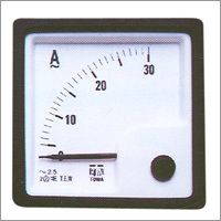 AC Moving Iron Sq 72 Panel Ammeters