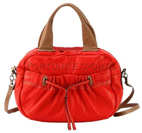 Ladies Leather Shoulder Bag