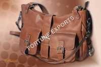 Ladies Fancy Leather Shoulder Bag