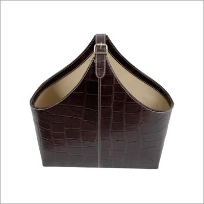 Croco Leather Baskets