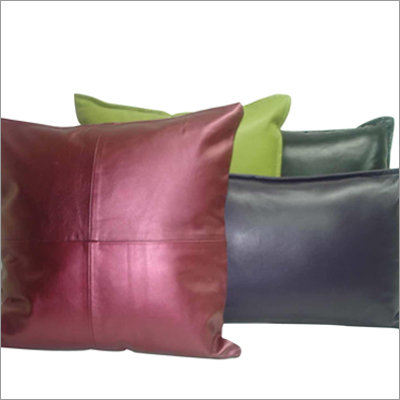 Designer Leather Cushions Cover