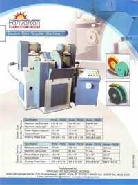 Double Disk Grinder Machine