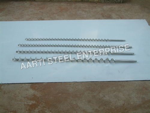 Polished Auger Screw
